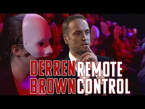 Illusionist Derren Brown tricks an audience with a fake Black Mirror-like game show where they chose various outcomes for an unsuspecting man