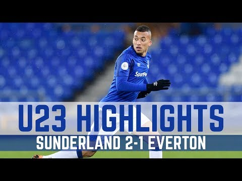 Video: U23 HIGHLIGHTS: SUNDERLAND 2-1 EVERTON