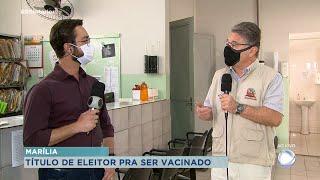 Marília estuda pedir título de eleitoral na hora da vacinação