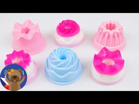 DIY mini mýdla z forem na bábovku - jak si udělat mýdlo - dárek, nápad