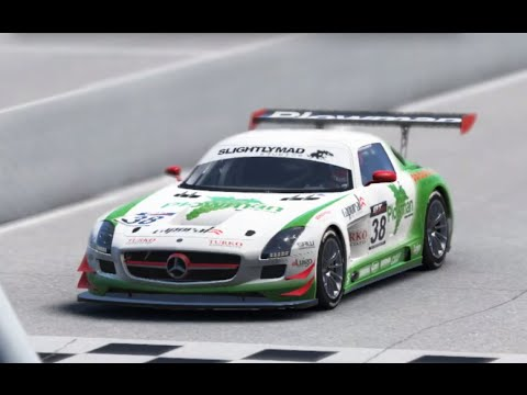 Project CARS: Mercedes SLS AMG GT3 - FULL HD! (With wheel)