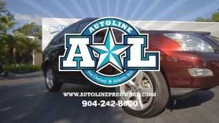 Autoline Preowned 2008 Lexus RX 350 For Sale Used Walk Around Review Test Drive Jacksonville