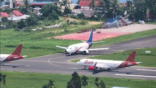 Download Video Batik Air dan Sriwijaya Air Take Off dan Landing di Bandara Rendani Kota Manokwari Papua Barat MP3 3GP MP4