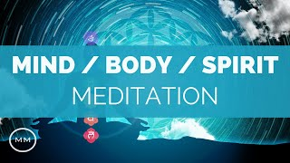 "Mental, Emotional, and Physical Healing - Mind / Body / Spirit Connection - Binaural BeatsMagnetic Minds:Purchase this HD Audio Track on MP3: https://sellfy.com/p/jjBMThis video contains frequencies which will greatly assist in healing the Mental, Emotional, and Physical bodies. The Mind / Body complex is a series of interconnected bodies (not the type of bodies you might be thinking of, only the Physical Body is material in nature). The other bodies are literally physical apparatuses of energy that Transmit / Store / and Receive (tri-way) information being exchanged through all 3 ""bodies"".The Ancients believed that the Energetic (Emotional) .. E-Motion .. (Energy in Motion) body (this is where your feelings are stored) could be healed and transformed through Tuning Forks, particularly the Ancient Solfeggio Scale, which would keep the energetic body in a state of perfection. This then translated into direct healing to the physical body, through the informational connection. Understanding the way these three bodies work, and interact with each other, enables you to optimize one to affect the others.The following frequencies are contained in this video:963 HzAncient Solfeggio Scale (Tone 9)Cosmic Unity528 HzAncient Solfeggio Scale (Tone 5)DNA Healing / Upgrade / Repair432 HzPure Tone""Cosmic Frequency""396 HzAncient Solfeggio Scale (Tone 3)Liberation of Guilt and Fear40 HzGamma Monaural BeatsBrain Operating System (Gamma Waves) 10.5 HzAlpha Binaural BeatsHealing of Mind / Body Unity8 HzAlpha Monaural BeatsLight Relaxation, Stress Relief3.5 HzDelta Monaural BeatsWhole Being Regeneration1.5 HzDelta Monaural BeatsUniversal Healing RateIf you enjoy this video, please Like and Subscribe for weekly updates.===== General Questions =====Q. What are Binaural Beats?""Binaural Beats"" is a term given to playing one sound frequency in one ear, and another sound frequency in the opposite ear, creating a two-tone effect in the mid-brain that is actually perceived to be one tone. This causes an ""Entrainment"" effect in the brain that has a variety of results depending on the frequency. Q. What are Binaural Beats good for?Lots of things. Meditation, Relaxation, Stress Relief, Deeper Sleep, Pain Relief, Mind Expansion, Brain Hemisphere Synchronization, and the list goes on and on. Pretty much any element of the Mind / Body complex can be improved using Binaural Beats, which again is just Brainwave Entrainment. Q. Do Binaural Beats Actually Work?Indeed. Many scientific studies (especially as of late) have conclusive research on Brainwave Entrainment and it's effects. Q. Must I wear headphones for these videos? You don't have to use headphones, but the Binaural effect is increased if you do. Q. Do I need to close my eyes while listening to this?No, although you'll find closing your eyes will generally lead to a deeper, more profound state while listening.If you enjoy this video, please Like and Subscribe for weekly updates."