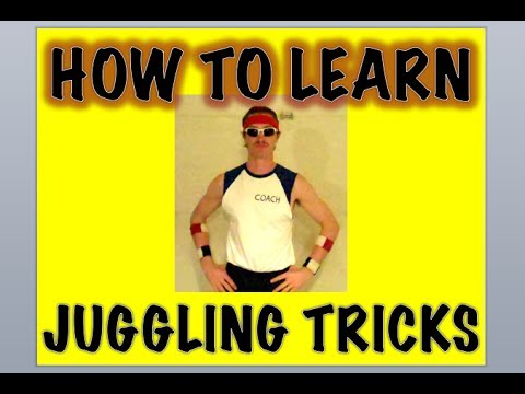 juggling - Coach Bob shares his 4-step method for learning new juggling skills in this easy-to-follow tutorial. Step 1: Weak Hand First! Step 2: Breakdown and Isolate S...