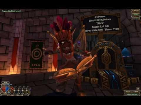 Dungeon Defenders - Challenge: Warping Core NMHC (Nightmare Hardcore) Solo
