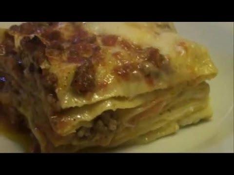 video ricetta: gustosissime lasagne al ragù di carne