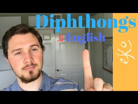 American English Diphthongs: Improve your English Pronunciation