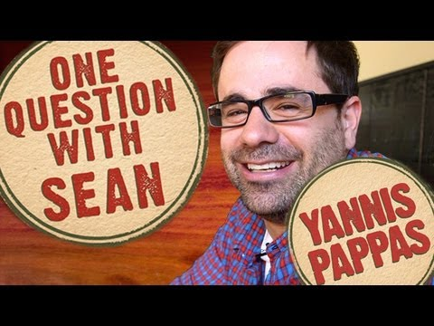 Yannis Pappas: John Stamos Twitter War - One Question with Sean