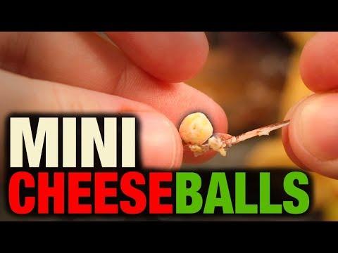 MINI CHEESE BALLS!