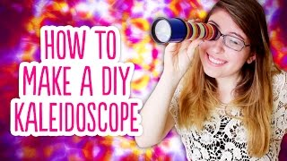 How To Make A DIY Kaleidoscope