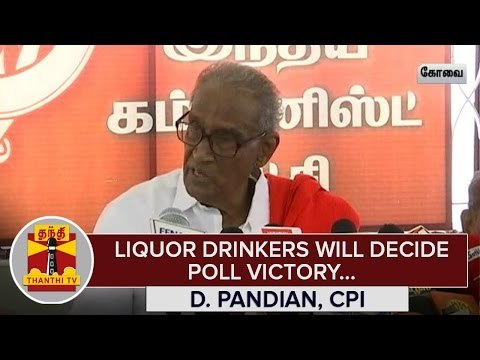 TN-Elections-2016--Liquor-Drinkers-will-decide-Poll-Victory--D-Pandian-Thanthi-TV