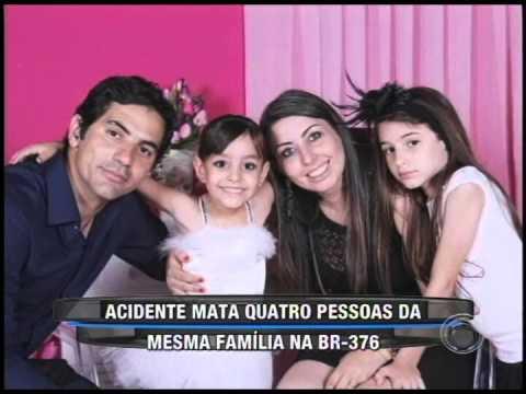 Acidente mata quatro pessoas da mesma família na BR-376 (30/01)