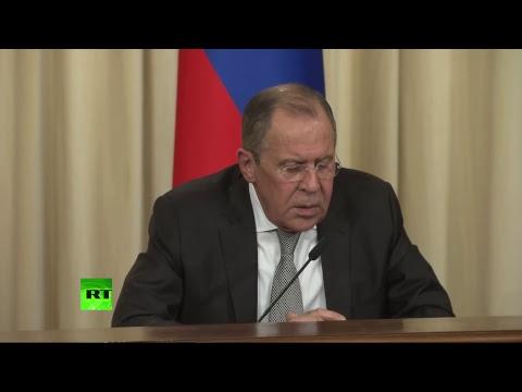 Пресс-конференция Сергея Лаврова и Рекса Тиллерсона