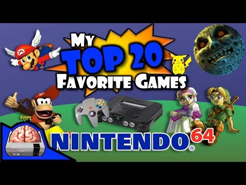 Nintendo 64 - This is Part 1 (of 2) discussing my Top 20 games for the Nintendo 64. This part covers #20 through #11. I know gamers have different tastes and memories of p...