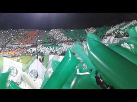 Salida los del sur Nacional 1 vs emelec 0 - Los del Sur - Atlético Nacional