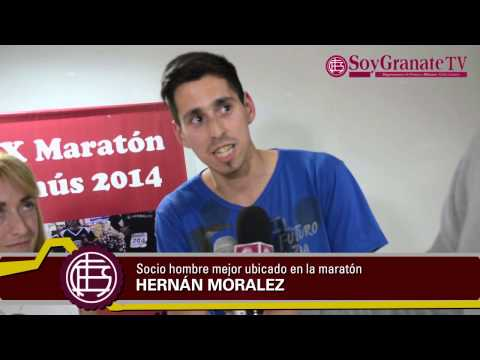 Premiación Socios Maratón Ciudad de Lanús