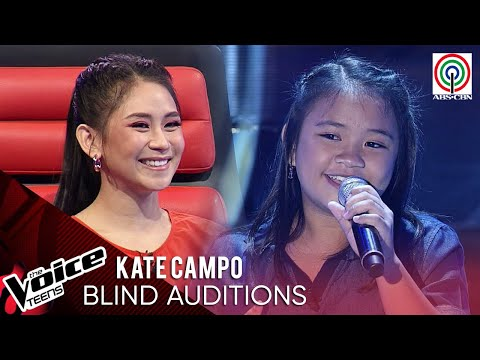 Kate Campo - Pusong Ligaw | Blind Audition | The Voice Teens Philippines 2020