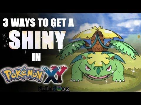3 Ways to Get a Shiny Pokémon in X & Y