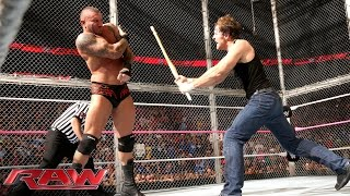John Cena  Dean Ambrose vs. Randy Orton Seth Rollins  Kane  3on2 Handicap Street Fight