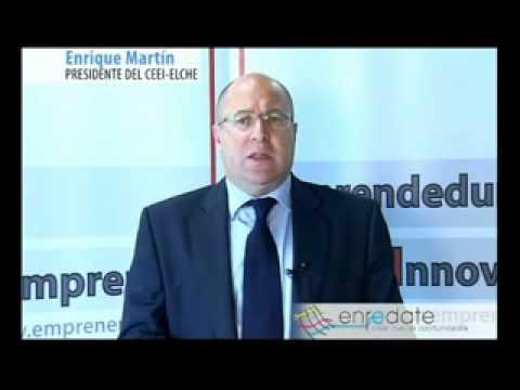 D. Enrique Martín - Presidente del CEEI Elche
