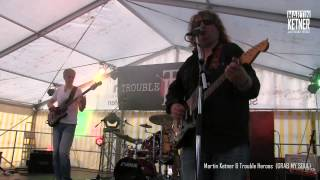 Video Martin Ketner and Trouble Heroes - Grab My Soul (live)