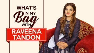 Video What's in my bag with Raveena Tandon | S03E02 | Fashion | Pinkvilla | Bollywood MP3, 3GP, MP4, WEBM, AVI, FLV September 2018