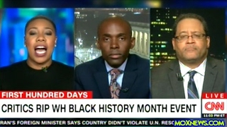 """DONALD TRUMP DOESN'T CARE ABOUT BLACK PEOPLE!"" Symone Sanders"