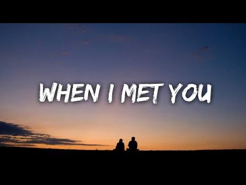 Justin Vasquez Cover - When I Met you (Lyrics)