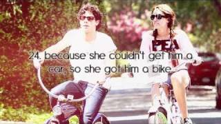 110 Reasons why Nick & Miley are meant to be. ♥