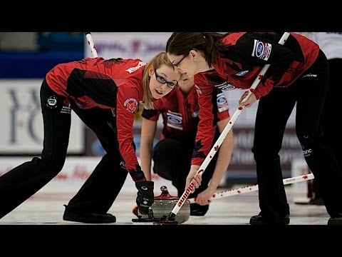 CURLING: CAN-SUI World Women's Chp 2014 – Final