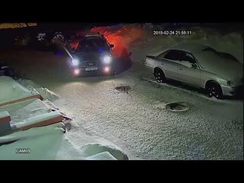 Ночное видео с AHD камеры 960P на базе матрицы Sony EXMOR IMX238 и процессора Next Chip NVP-2431H