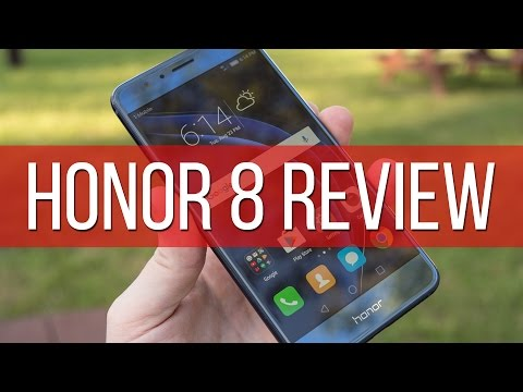 Honor 8 Video Review