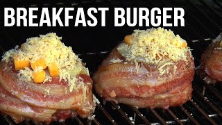 Based on our Beer Can Bacon Burger, the most famous Burger in the World, this easy to do breakfast burger recipe will cure whatever ails ya in the morning. You have to check this BBQ Pit Boys recipe out. Our Beer Can Bacon Burger recipe can be found here https://youtu.be/Hq2kmbI_1EA  -...Please Subscribe, Fav and Share us. Thanks..!  Are you looking for barbecue and grilling recipes to serve up at your Pit, family picnic, or tailgating party? Then put your Barbecue Shoes on because we're serving up some delicious, moist and tender, and real easy to do cooking on the ol' BBQ grill.To print out this recipe, or to get your BBQ Pit Boys Pitmasters Certificate, our custom BBQ Pit Boys Old Hickory knife, gifts and more CLICK HERE http://www.bbqpitboys.com/barbecue-store-gifts. To purchase our official T-Shirts, Mugs, Aprons, Scarfs, Hoodies, and more shipped to you anywhere in the world CLICK HERE http://www.bbqpitboys.com/barbecue-store-gifts  Become a member of the Pit. Or join a BBQ Pit Boys Chapter, or start your own, now over 12,000 BBQ Pit Boys Chapters formed worldwide. Visit our Website to register http://www.BBQPitBoys.comThanks for stopping by the Pit and for your continued support..! --BBQ Pit Boys