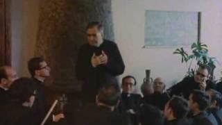Encuentro de san Josemaría con sacerdotes