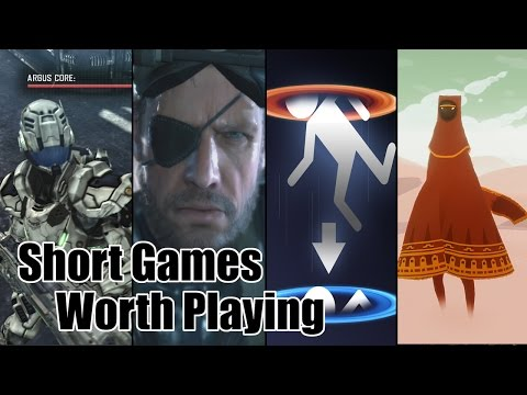 Short Games Worth Playing