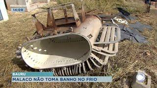 Transformador de poço é furtado e deixa mais 50 mil pessoas sem água em Bauru