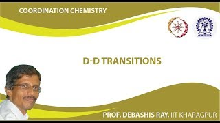 Mod-01 Lec-22 d-d Transitions