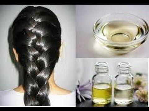 Tratamiento Nocturno de 5 ACEITES PARA REGENERAR TU CABELLO! / 5 Oils Hair Treatment