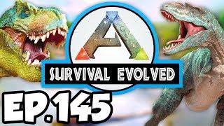 ARK: Survival Evolved Ep.145 - WEIGHING DINOSAURS BEFORE BOSS BATTLE!!! (Modded Dinosaurs Gameplay)