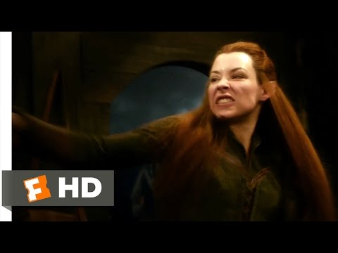 The Hobbit: The Desolation of Smaug - Legolas and Tauriel Scene (7/10) | Movieclips