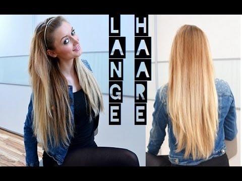 haare lange haare - Ihr habt mich sehr oft gefragt, wie ich es geschafft habe so lange Haare zu bekommen- und hier sind meine Antworten! Probiert's einfach aus, ihr werdet zieml...
