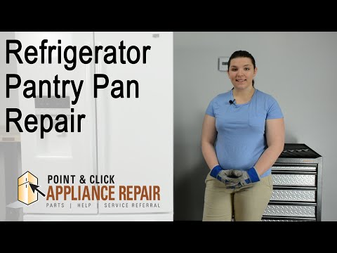 Fridge Repair: Pantry Pan Replacement (Part Number W10514690) – Maytag French Door Refrigerator