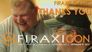 Firaxicon: Thank you from Firaxis Games