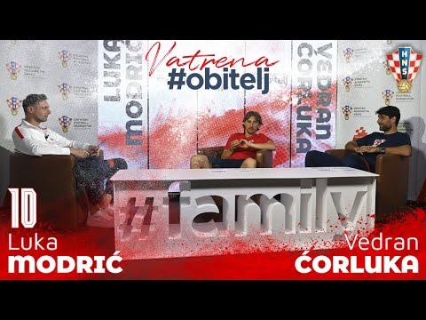 Vatrena #obitelj: Luka Modrić i Vedran Ćorluka