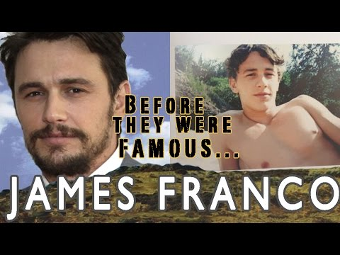 JAMES FRANCO | Before They Were Famous