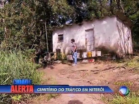 Adolescente denuncia cemitério clandestino em Niterói (RJ)