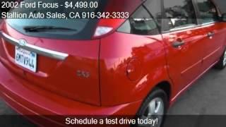 2002 Ford Focus ZX5 4dr Hatchback for sale in ROSEVILLE, CA