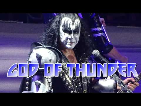 KISS - God Of Thunder - live @Ahoy Rotterdam, the Netherlands, 24 May 2017