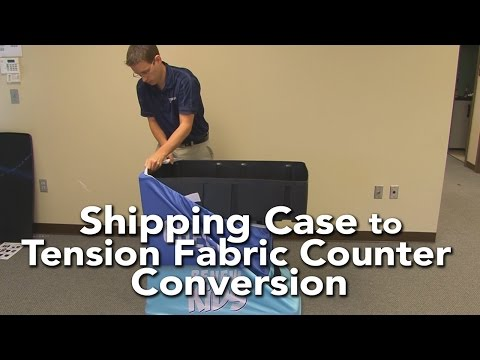 Tension Fabric Hard Case / Counter Assembly